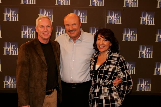 Dr Phil with Jim and Elizabeth Carroll